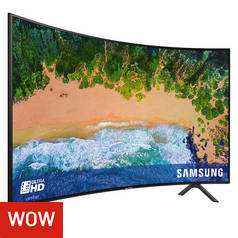 3c28ab8d7 Samsung 65NU7300 65 Inch 4K UHD Curved Smart TV with HDR