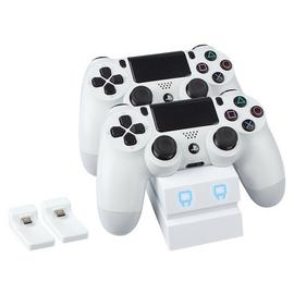 Venom Twin Docking Station for PS4 - White