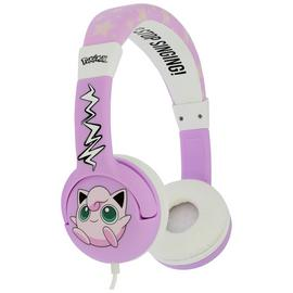 Pokemon Jiggly Puff Childrens Headphones - Pink