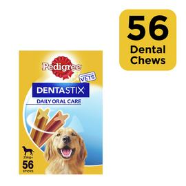 Pedigree Dentastix Daily Adult Large Dog Dental Treats 56