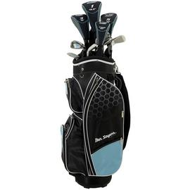 Ben Sayers Youth And Ladies' M8 Golf Set with Cart - Blue