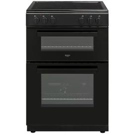 Bush BT60ELB 60cm Twin Cavity Electric Cooker - Black Best Price, Cheapest Prices