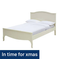 Argos Home Sophia Double Bed Frame - Cream