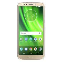 SIM Free Motorola Moto G6 Play Mobile Phone - Gold