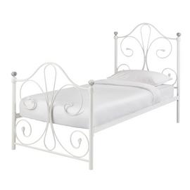 Argos Home Marietta Single Bed Frame - White