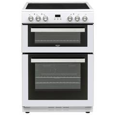 Bush BLC60DBL 60cm Double Oven Electric Cooker - White