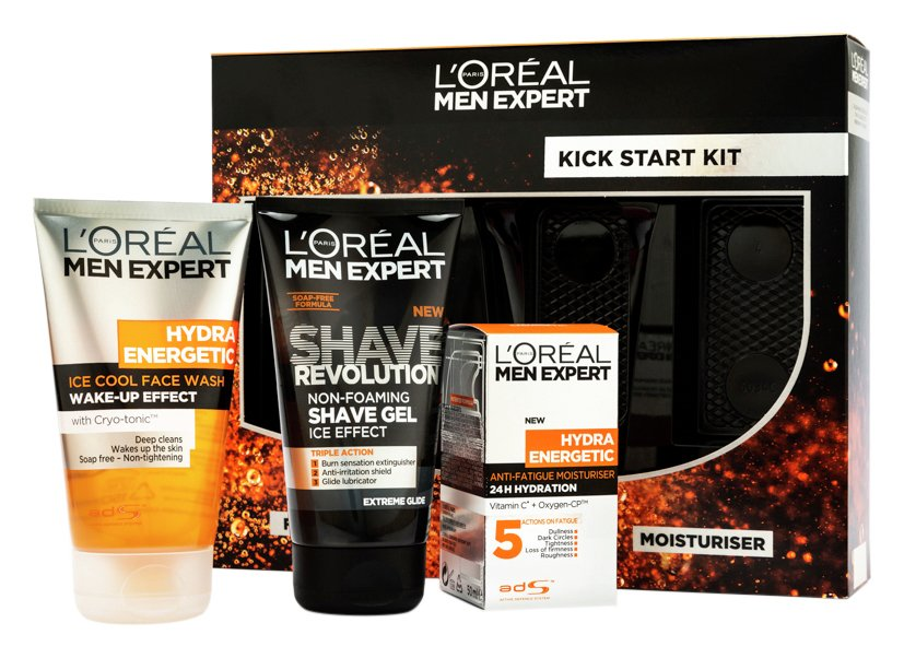 Lu0027Oreal Men Expert Kick Start Skincare Gift Set  sc 1 st  Argos & Results for mens gift set