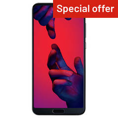 SIM Free Huawei P20 Pro 128GB Mobile Phone - Black