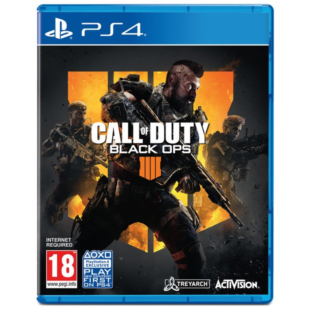 Buy Call Of Duty Black Ops 4 Ps4 Game Ps4 Games Argos