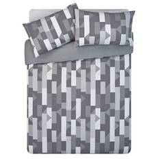 Argos Home Grey Restoration Bedding Set - Double