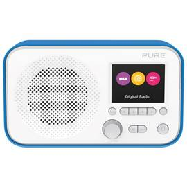 Pure Elan E3 Portable DAB+ FM Radio - Blue