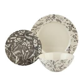 Argos Home Rural Retreat Stoneware 12 Piece Dinner Set