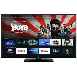 Bush 55 Inch Ultra HD Smart Fire TV Edition with HDR- Black
