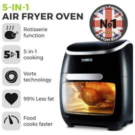 Tower 11L Digital Air Fryer Oven