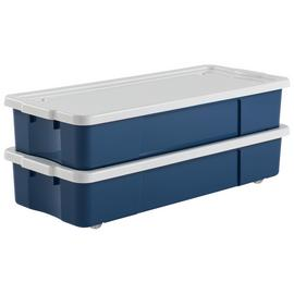 Argos Home Underbed Storage - Blue