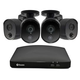 Swann 4 1080p Camera 64GB Security System