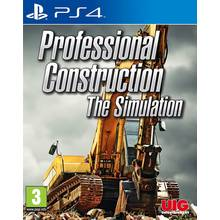 Professional Construction Simulator PS4 Game