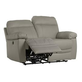 Argos Home Paolo 2 Seater Power Recliner Sofa - Grey