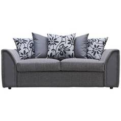 Argos Home Dallas 2 Seater Fabric Sofa Bed - Charcoal