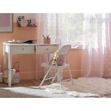 Collection Brooklyn 2 Drawer Desk - White