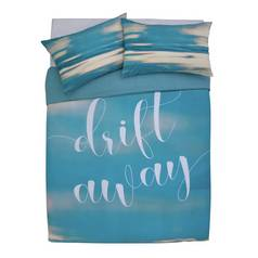 Argos Home Drift Away Bedding Set - Double