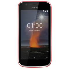 SIM Free Nokia 1 Mobile Phone - Warm Red