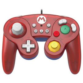 Super Smash Bros Nintendo Switch Gamepad Controller - Mario