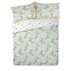 Argos Home Wildflowers Sateen Bedding Set - Kingsize