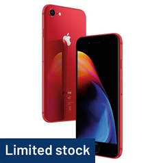 SIM Free iPhone 8 256GB Special Edition Mobile Phone - Red