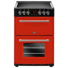 Belling Farmhouse 60E Electric Cooker - Red
