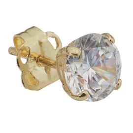 Revere Men's 9ct Yellow Gold Cubic Zirconia Stud Earring