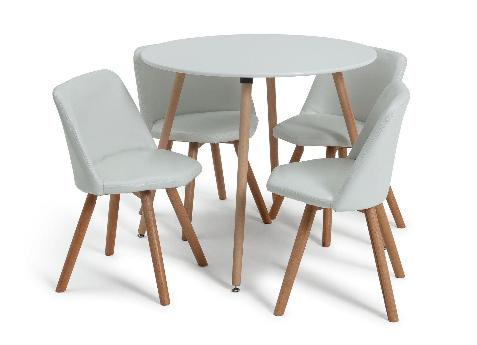 Round Table And Chair Set & Home Styles 5 Piece Black ...