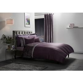 Julian Charles Lia Mauve Bedding Set - Double