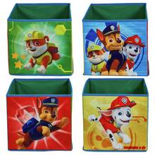 Paw Patrol Chase Set of 4 Fabric Storage Cubes