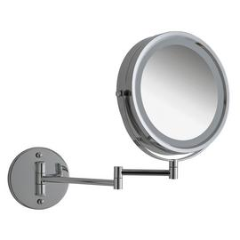 Argos Home LED Chrome Bathroom Shaver Mirror
