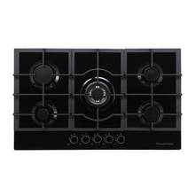 Russell Hobbs RH86GH702B Cast Iron Support Gas Hob - Black