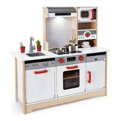 hape delicious memories wood play kitchen - Play Kitchen