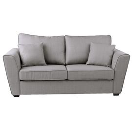 Argos Home Renley 2 Seater Fabric Sofa Bed - Light Grey