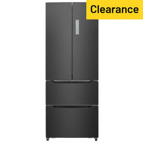 Hisense RF528N4AB1 American Fridge Freezer - Black