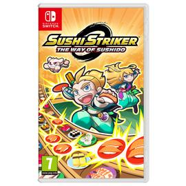 Sushi Striker: The Way of Sushido Nintendo Switch Game