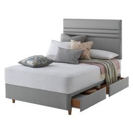 check out f3d8c c8829 Silentnight 4 storage drawers Divan beds | Argos
