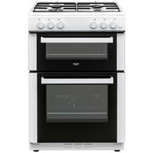 Bush BGC60TW Twin Gas Cooker - White