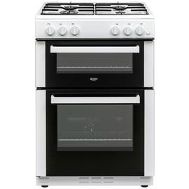 Bush BGC60TW 60cm Twin Cavity Gas Cooker - White