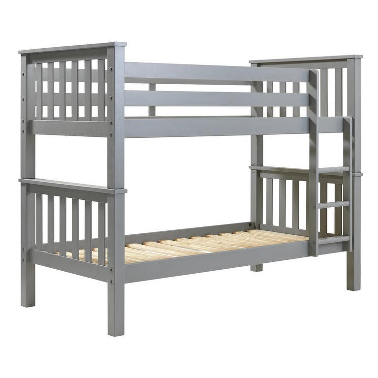 Buy Argos Home Heavy Duty Bunk Bed Frame Grey Kids Beds Argos