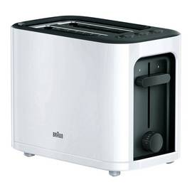 Braun Series 300 2 Slice Toaster - White