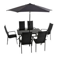 Argos Home 6 Seater Aluminium Patio Set