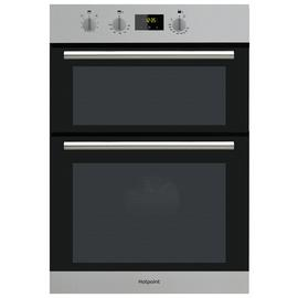 Hotpoint DD2540IX Built In Double Electric Oven - S/Steel