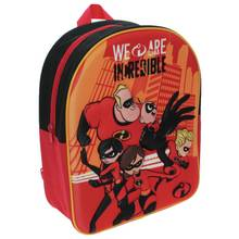 Disney Incredibles 3D Effect 7L Backpack - Red