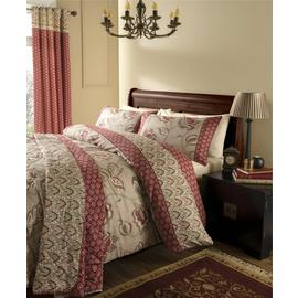 Catherine Lansfield Kashmir Cotton Duvet Cover Set - Double