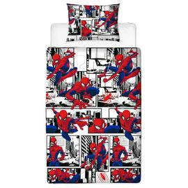 Disney Spider-Man Children's Bedding Set - Single